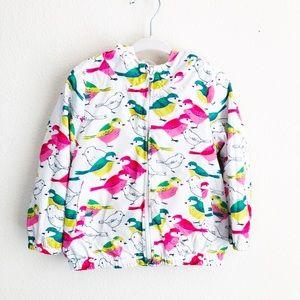 GAP Kids white jacket with bird print - 3 years